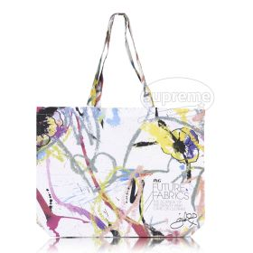 "Cotton beach bag / Landscape tote bag with long handles and custom print (18.89""(w) x 14.96""(h) and 24.80"" handles)"
