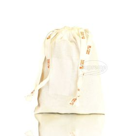 "Brushed Cotton Drawstring Bags (5.91"" x 7.87"" inches)"