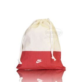 "Cotton drawstring bag (9.84"" x 11.81"" inches)"