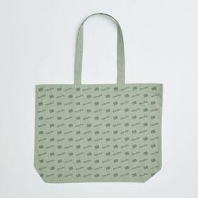Large Landscape Dyed to Pantone 11oz Cotton Shopping Bag with Long Handles - Direct from Manufacturer