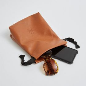 luxury drawstring bag in vegan leather for wholesale - Direct from Ethical bags Supplier