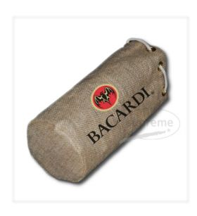 """One Bottle Bag with Rope handle 6.69""""(w) x 9.45""""(h) + 3.94"""" inches"""