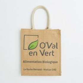 Branded Bottles Jute Bag with Strong Web Handles direct from manufacturer