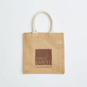 Bespoke Jute Shopping Bag with Comfi Web Handles Direct from Ethical Manufacturer
