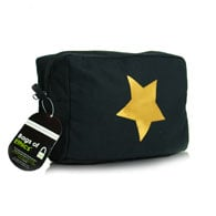 Medium black day cosmetic bags