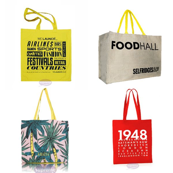 Printed fabric bags uk