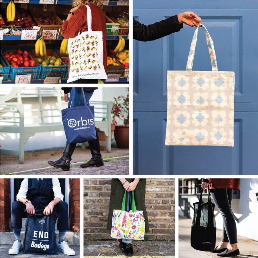 Any Shape, Any Size, Any Color tote bags wholesale
