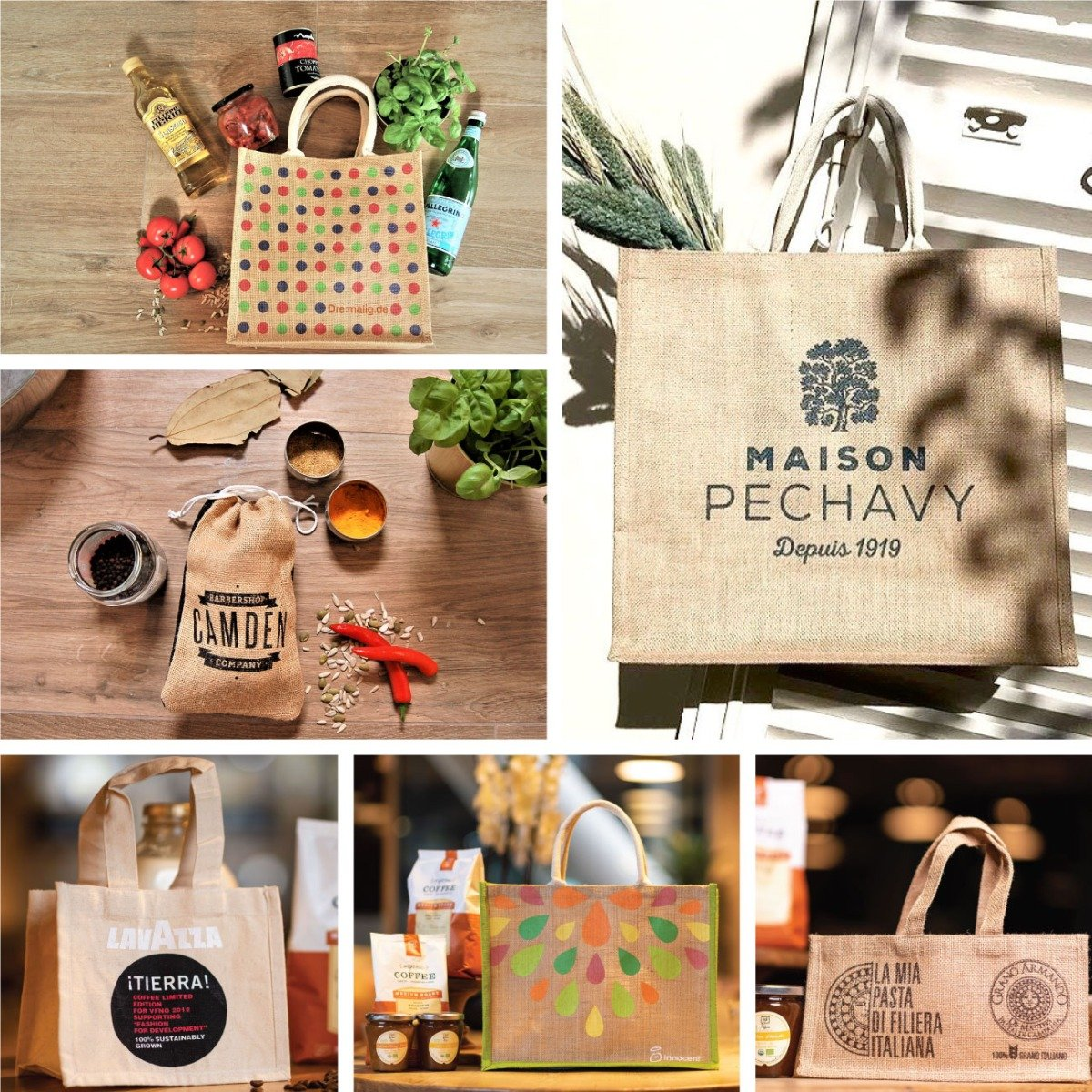 Any Shape, Any Size, Any Color jute bags wholesale