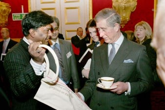 Dr Sri Ram meeting Prince Charles